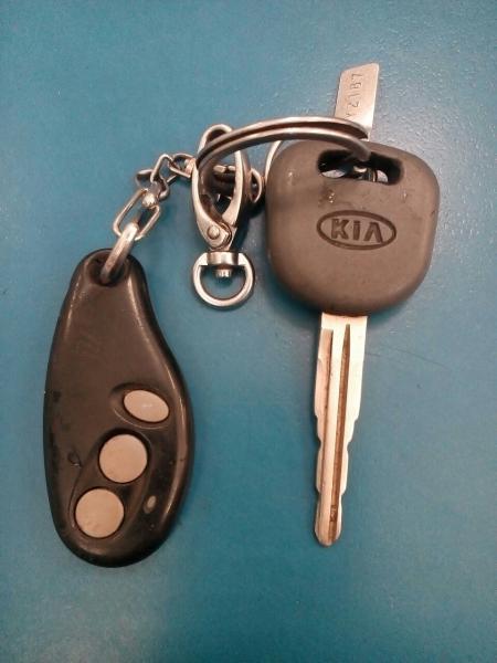Потеряны ключи КИА с брелком сигнализации
