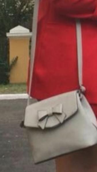 Утеряна маленькая дамская сумочка серого цвета с 2-мя связками ключей