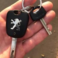 найдены ключи от Пежо/Peugeot