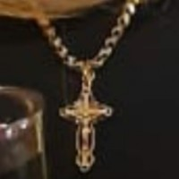 Утерян золотой крестик