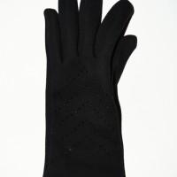 Найдена женская перчатка чёрного цвета