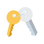 Найдены ключи на остановке.